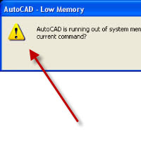 autocad-is-runnig-out-system-memory